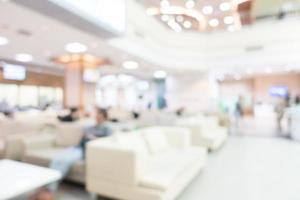 abstrakte Unschärfe Krankenhaus und Klinik foto
