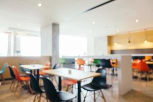 abstrakte Unschärfe Restaurant foto