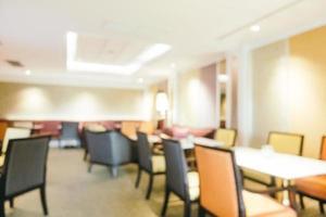 abstrakte Unschärfe und defokussierte Hotellobby und Lounge foto