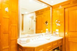 abstrakte Unschärfe und unscharfe Toilette und Badezimmer foto