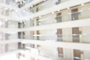 abstrakte Unschärfe und defokussiertes Hotel- und Lobbyinterieur foto
