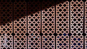 Backsteinmauer Textur Hintergrundmaterial foto