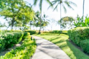 abstrakte Unschärfe Luxushotelresort für Hintergrund - Urlaubs- und Urlaubskonzept foto