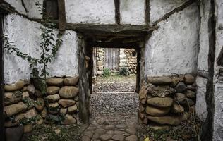alte Holzhäuser foto