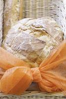 handgemachtes traditionelles Brot foto