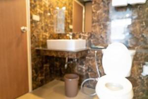 abstrakte Unschärfe Toilette und Toilette für den Hintergrund foto