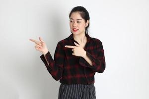 Frau im Studio foto