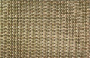 Muster aus Bambus gewebte Textur Hintergrund Korbwaren. foto