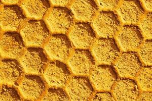 Bienenwachsmuster Hintergrund foto