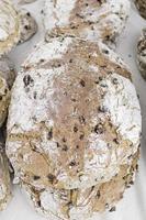 Brot mit Grieß foto