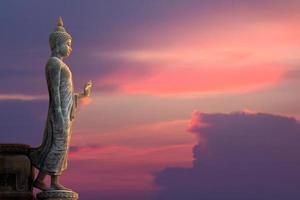Buddha-Statue von Thailand foto