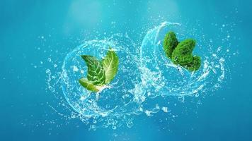 Konzept des Umwelttages foto