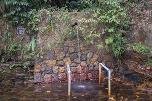 Wasserquelle in rio de janeiro foto