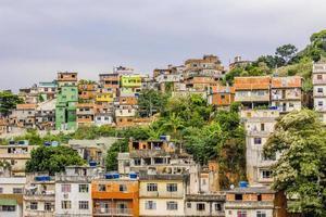 Details des Hügels der Freuden in Rio de Janeiro - Brasilien foto