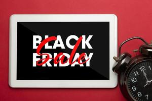 Black Friday-Verkaufskonzept foto