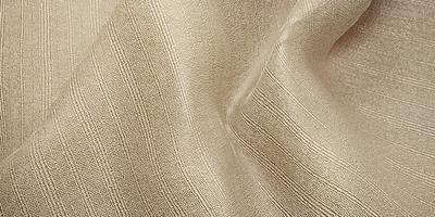 Seide Textur Wellenvorhang Organza Stoff hellbeige 3D-Darstellung foto