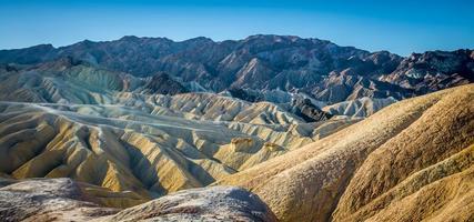 Death Valley Nationalpark Wanderung in Kalifornien foto