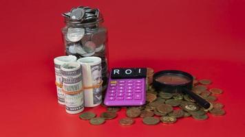 Return on Investment-Konzept foto