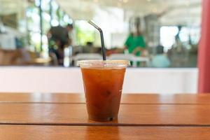 Eiskaffee im Café-Café-Restaurant? foto