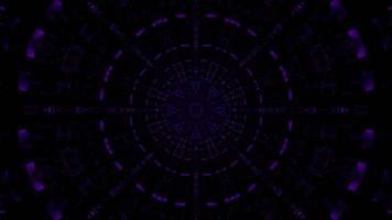 dunkler Tunnel mit schwachem Ornament 4k UHD 3D-Darstellung foto