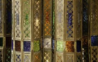 arabische lampe licht foto