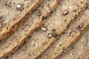 Nahaufnahme bereit, frisches Brot zu essen eat foto
