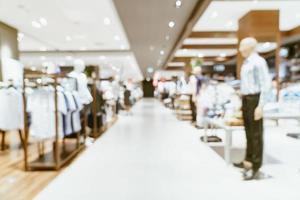 abstrakte Unschärfe Luxus-Einkaufszentrum und Einzelhandelsgeschäft für Hintergrund for foto
