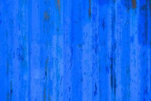 blaue abblätternde MetallwandtexturGrunge und schmutziges Material, grober struktureller Hintergrund foto