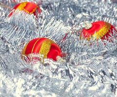 Weihnachtsgeschenk-Shopping-Hintergrund foto