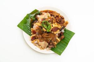 chinesische gedämpfte Reisnudeln foto