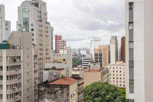 Gebäude des Stadtzentrums von Sao Paulo foto