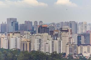 Gebäude im Zentrum von Sao Paulo, Brasilien foto