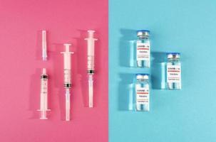 die Anordnung für Coronavirus-PCR-Tests foto