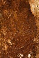 natürliches Muster salzige Gesteinsoberfläche foto