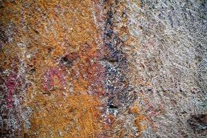 abstrakte schmutzige Grunge-Steinmauer foto