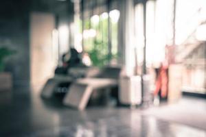 abstrakter Unschärfeinnenraum im Hotel für Hintergrund for foto