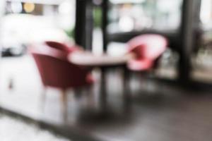 abstrakte Unschärfe im Café für den Hintergrund foto