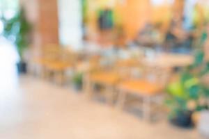 verwischen Café oder Café-Restaurant foto