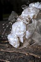 bunter Hochzeitsstrauß schöne romantische Blumen foto
