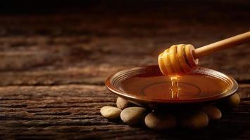 Honig von natürlichem foto