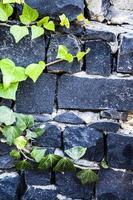 Grunge Steinmauer Hintergrundtextur foto