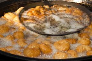 türkische traditionelle süße Freude Lokma foto