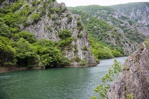 touristische naturattraktionen, mazedonien matka canyon, reisen foto