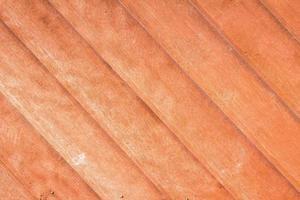 Nahaufnahme von Teakholz Planke Textur foto