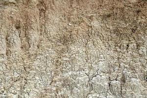 trockene und rissige Erde foto