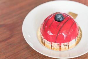 Himbeer-Mousse-Kuchen foto
