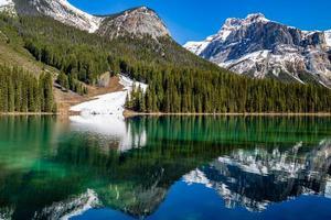Emerald Lake Yoho Nationalpark Britisch-Kolumbien Kanada foto