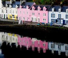 Portree auf der Isle of Skye, Schottland foto