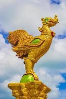 Bunte Architektur im Wat Plai Laem Tempel auf Koh Samui Island, Thailand, 2018 foto