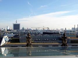 Luftaufnahme von Berlin foto